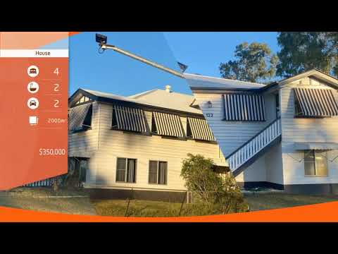 For Sale By Owner: 122 Parry St, Charleville, QLD 4470